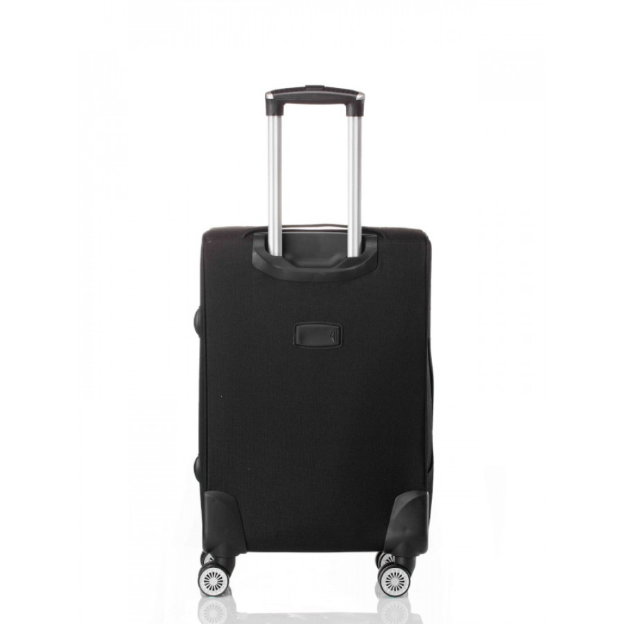 Чемодан L'case Amsterdam Black M