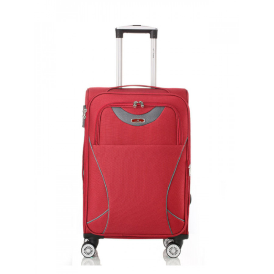 Чемодан L'case Amsterdam Red M