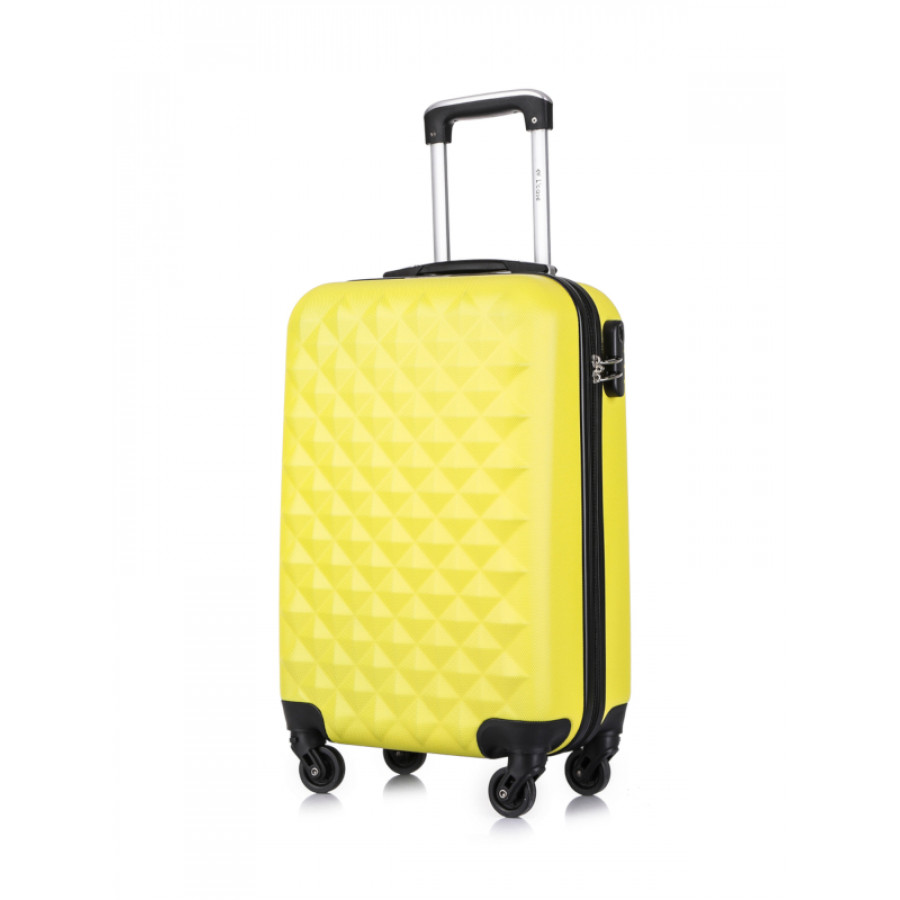 Чемодан L'case Phatthaya Yellow S+