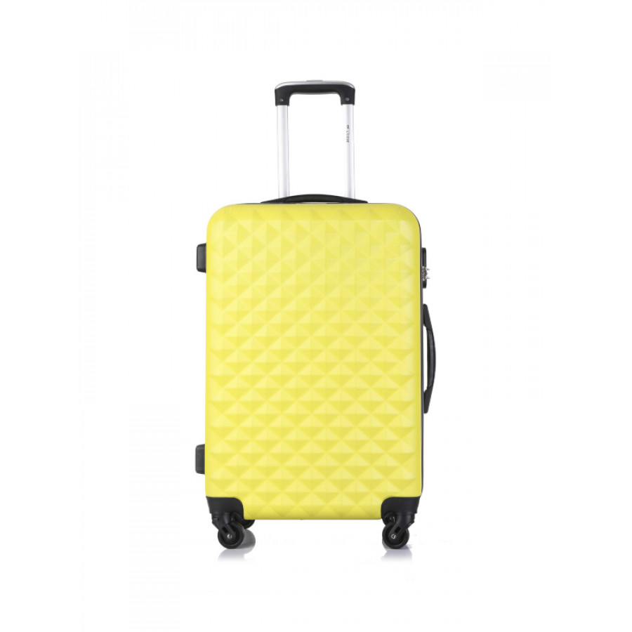 Чемодан L'case Phatthaya Yellow M+