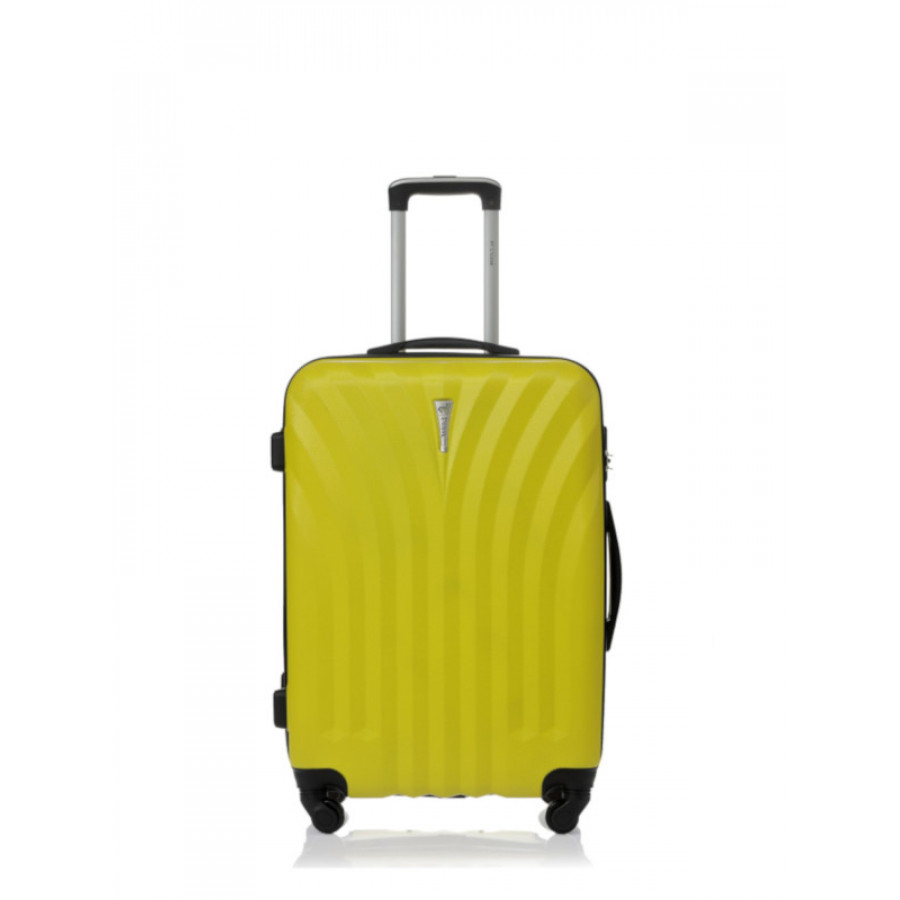 Чемодан L'case Phuket Yellow S+