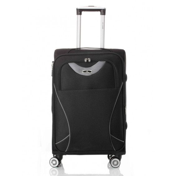 Чемодан L'case Amsterdam Black L